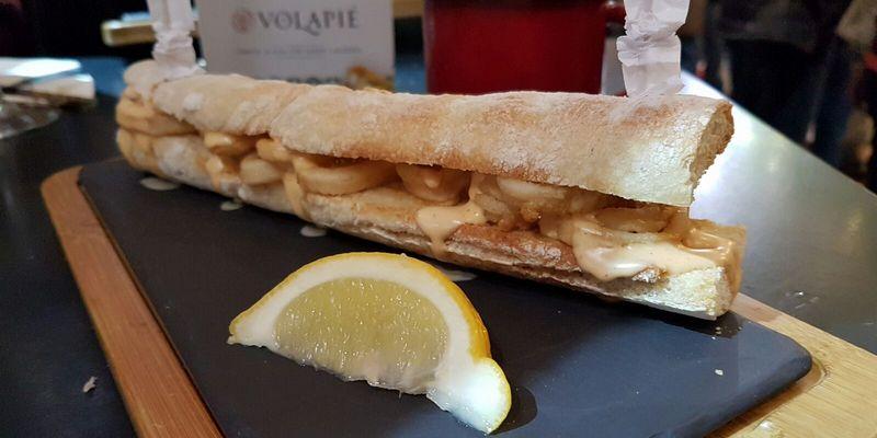 Bocatín de Calamares y Salsa Kimchi, Taberna Volapié, Dani García, Sinestesia Gastronómica