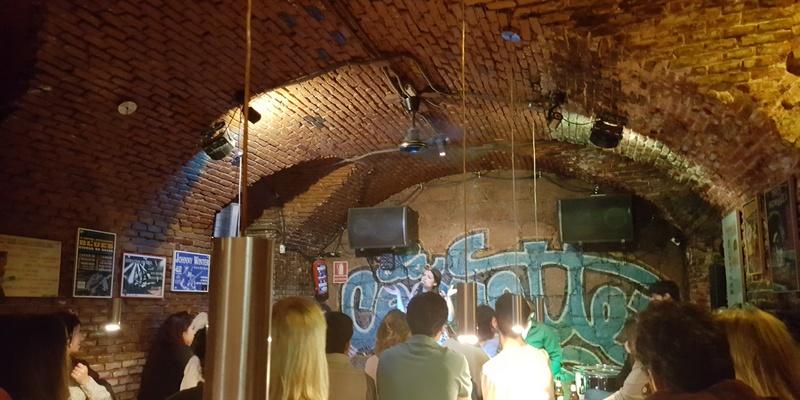 Blue bar Madrid, Jazz session Madrid, Musica en directo MAdrid